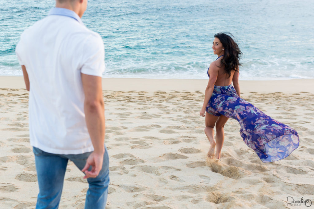 Cabo Wedding Engagement Photo