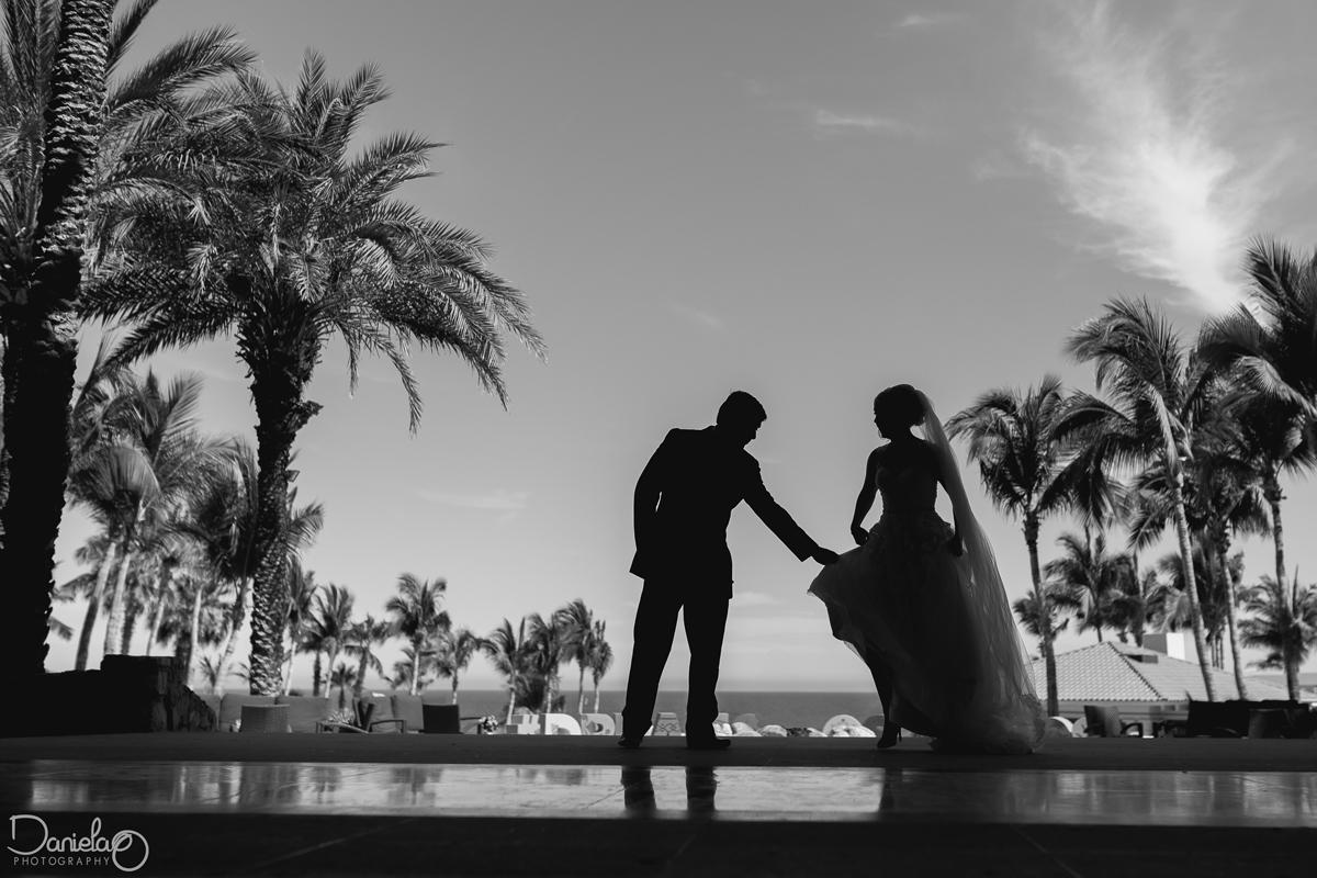 wedding at dreams los cabos