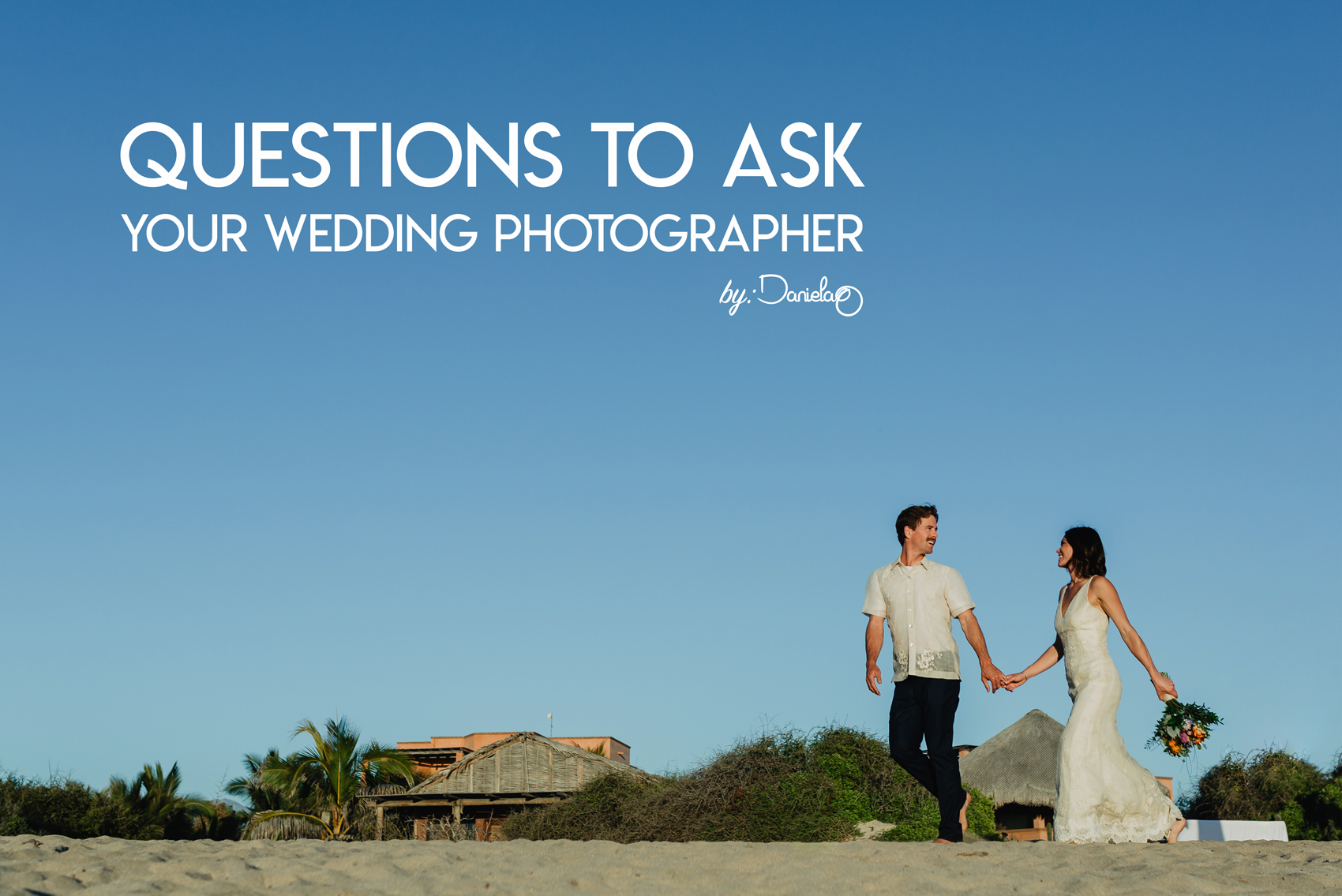 Questions for your potential wedding photographer