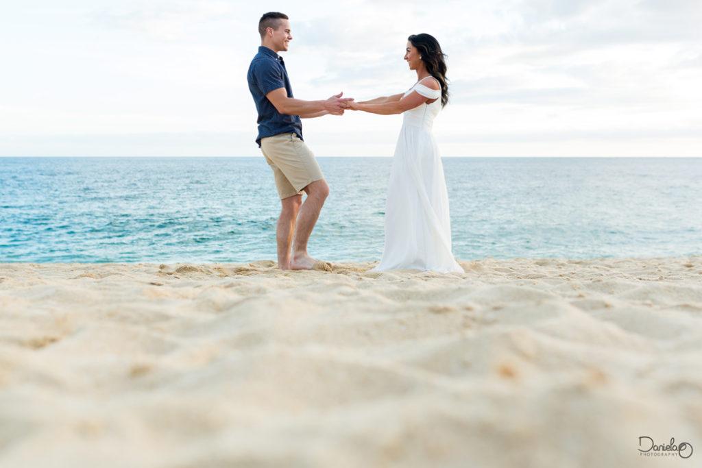 Cabo Wedding Engagement Photo