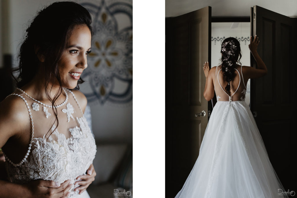 Wedding Dress Cabo San Lucas Mexico Destination Wedding Photo