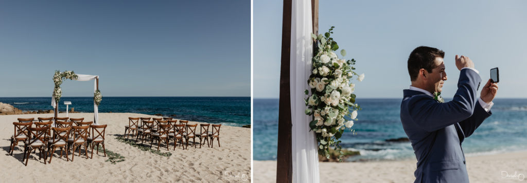 Cabo San Lucas Destination Wedding Deco