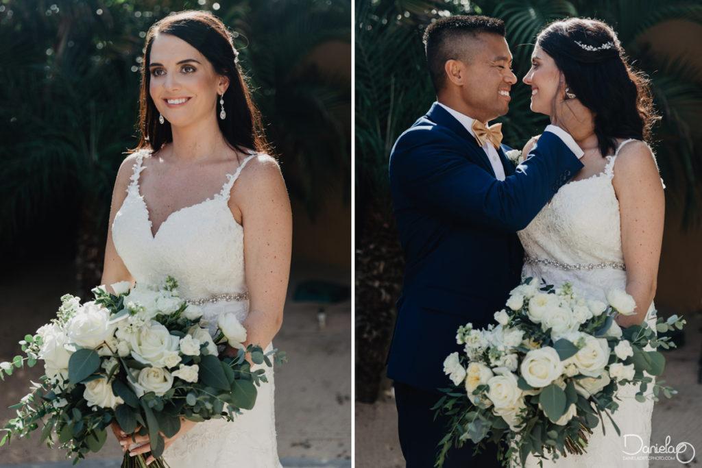 First Look Fiesta Americana Grand Los Cabos Wedding Planner Karla Casillas Photographer Daniela Ortiz