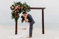 Beach Ceremony Destination Wedding Mar del Cabo Photographer
