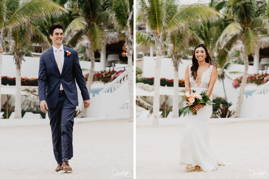 Ceremony Destination Wedding Mar del Cabo Photographer
