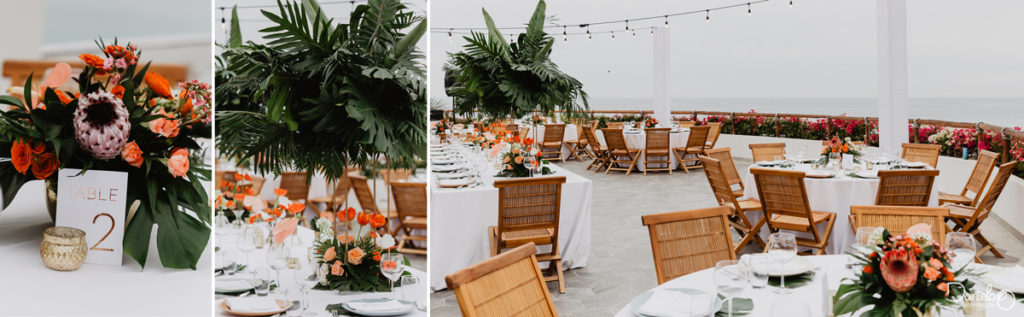 Decoration Destination Wedding Mar del Cabo Photographer