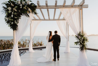 Wedding Sunset Monalisa Cabo Mexico Photographer