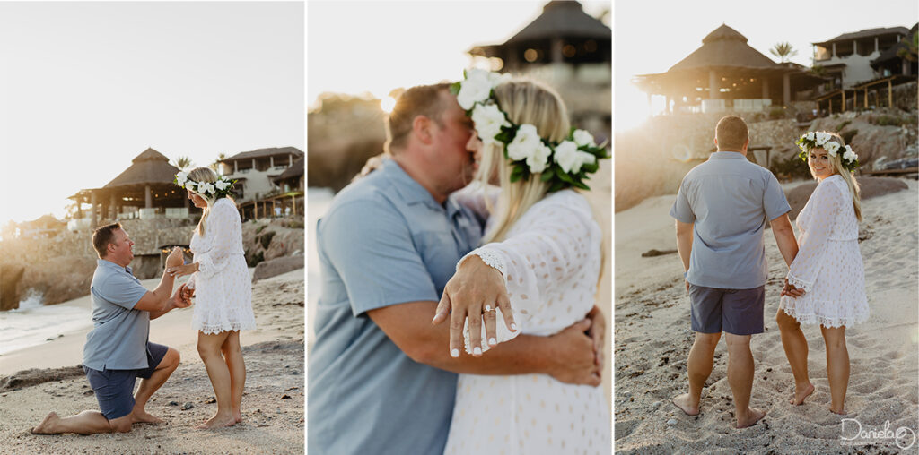 Proposal Tips Photographer in Cabo