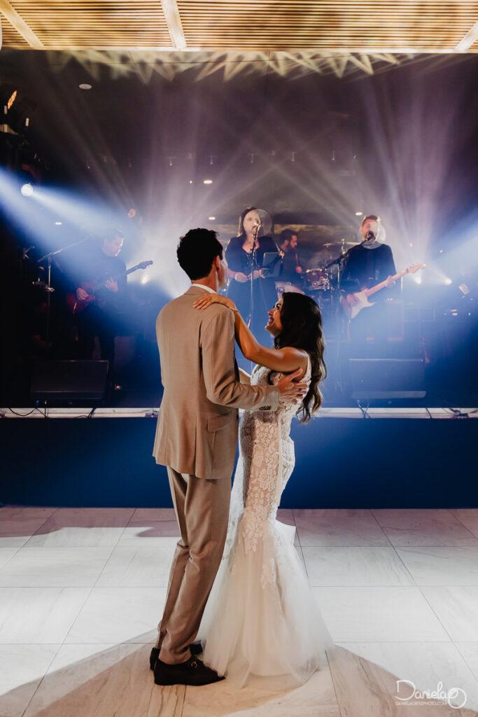 Cabo Boho wedding first dance