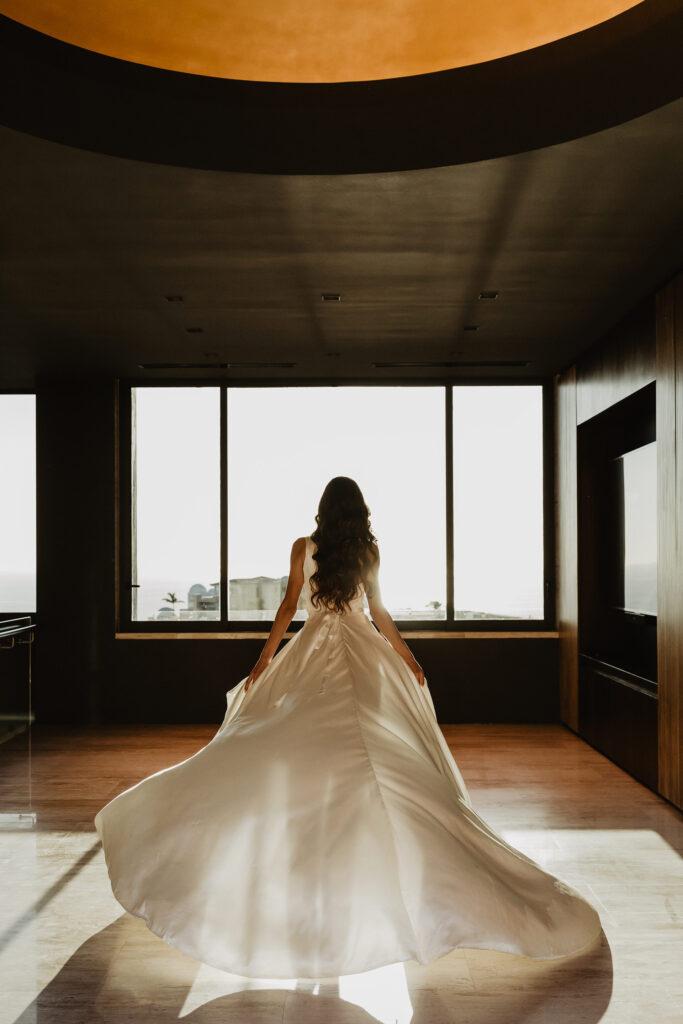 Cabo Wedding dress Photographer dress